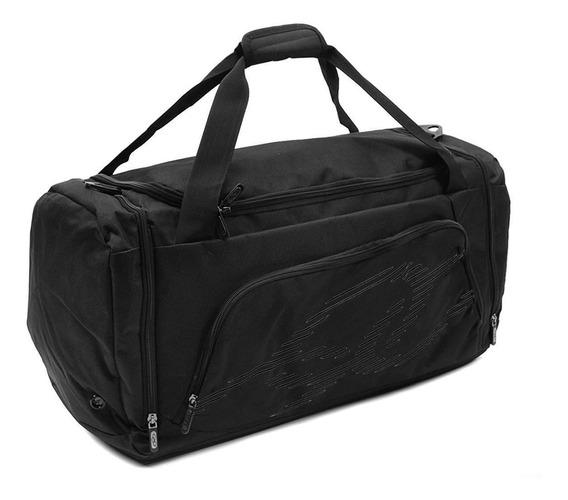 Bolsa De Viagem Olympikus Gym Bag Line 60 Cm Preta