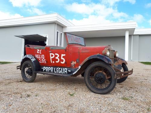 Carro Ford Fordinho 1929 Usado Em Corridas Antigamente
