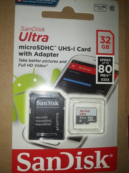 Cartao De Memoria 32 Gb Classe 10 San Disk