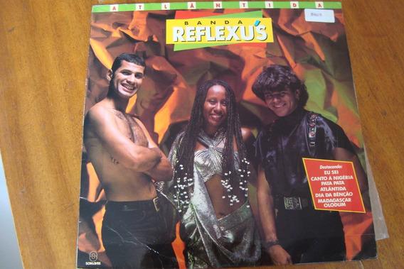 Lp Som Livre 1993 / Banda Reflexus Atlantida / Canto Negeria