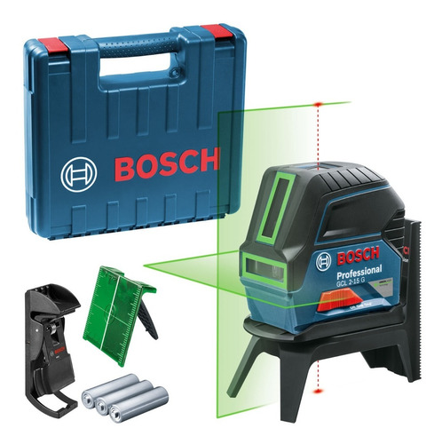 Nível Laser Bosch Gcl 2-15 G Verde 15 Metros Linhas E Pontos