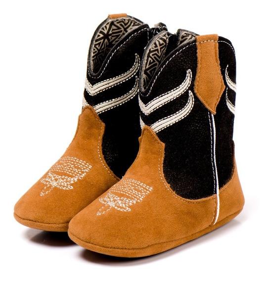 Bota Botinha Sapato Bebê Country Infantil Texana Peão