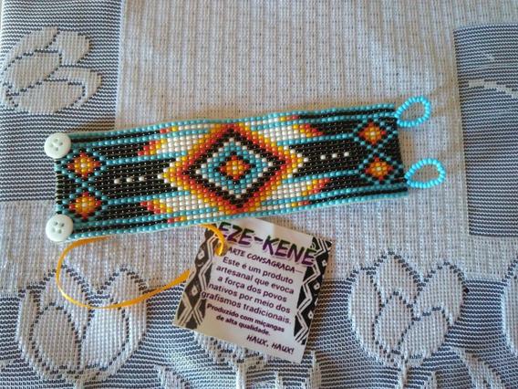 Pulseira De Miçangas Indígena Xamânica Xamã Lakota Frtgrátis