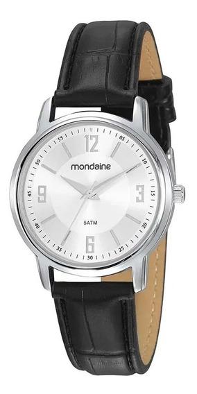 Relógio Mondaine Feminino Analógico Couro 83475l0mvnh1