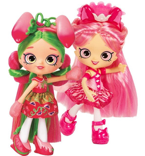 Shoppies Muñeca Shopkins Makaella Coco Cookie Fria O Lemony