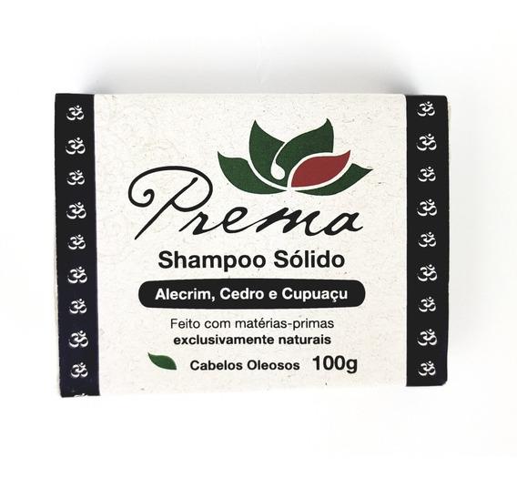 Shampoo Sólido De Cedro, Alecrim E Cupuaçu 100g