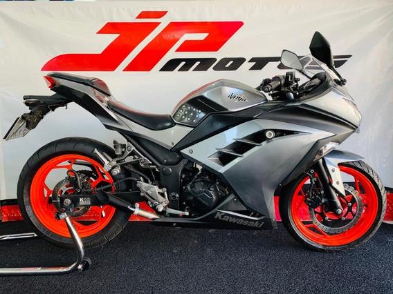 Kawasaki Ninja 300 Cinza 2014