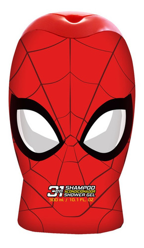 Imagen 1 de 1 de Gelatti - Shampoo 3en1  2d  Marvel Spiderman