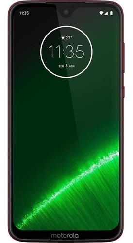 Celular Motorola Moto G7 Plus 64gb Rubi Seminovo Excelente