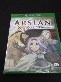 Arslan The Warriors Of Legend Xbox One Nuevo Sellado
