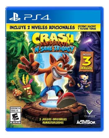 Videojuego Ps4 Crash Bandicoot N-sane Trilogy 2.0 Vi Tk249