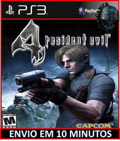 Resident Evil 4 Ps3 Psn Digital Envio Hoje Jogo De Ação