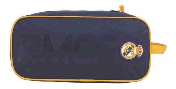 Porta Tenis Com 2 Divisoes Real Madrid Produto Oficial