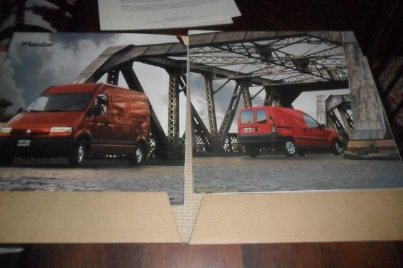 Publicidad 1999 Automovil Renault Master Kangoo Lanzamiento