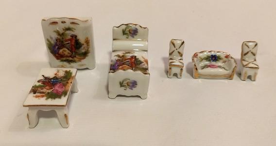 Miniaturas De Porcelana Limoges