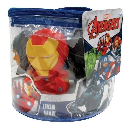 Set 5 Muñecos Avengers Estilo Funko Pop 12cm Giro Didactico