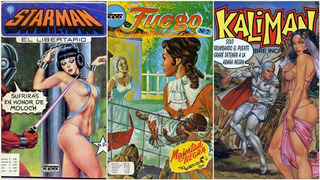 Kaliman Orion Arandu Kendor Fuego Coraje Comic Digital