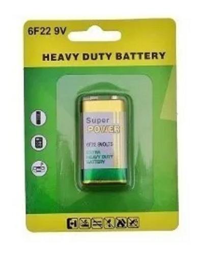 Bateria Pilha 9v Caixa  Super Power