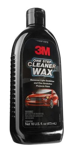 3m Cleaner Wax - Cera Limpiadora  2 En 1 - 39006 - 473ml