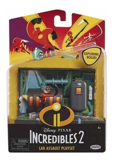 Juego Los Increíbles 2 Disney Pixar Laboratorio Elastigirl