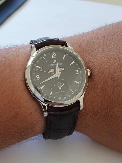 Jaeger Lecoultre Master Calendário Anual Troco Patek E Rolex