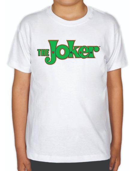 Playera The Joker Letras De Niño El Joker El Guasón Carcinis