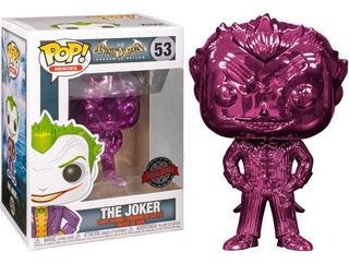 Funko Pop! El Guason/the Joker Purple Chrome Exclusive 53