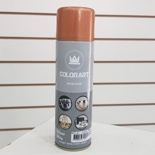 Tinta Ouro Rose Spray Gold Colorart 300 Ml Automotiva
