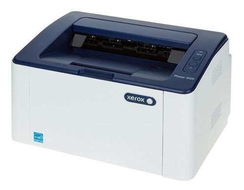 Impresora Xerox Laser Monocromatica Phaser 3020 Wifi Red Usb