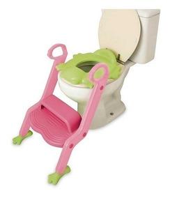 Redutor Assento Banheiro Infantil Com Escada Menino / Menina