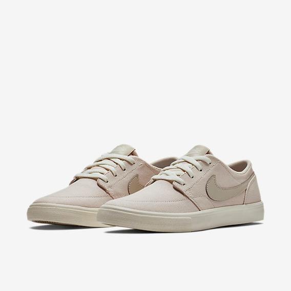 Tênis Feminino Nike Sb Portmore Ii Slr C Bege Original
