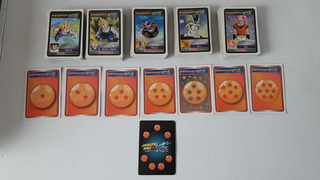Lote De 158 Cartas Dragon Ball Z Kai Sin Repetir
