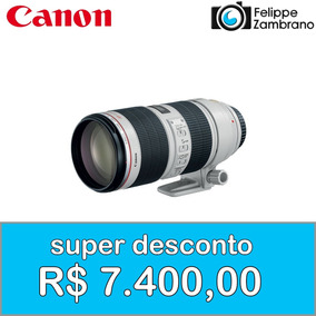 Lente Canon 70-200mm F/2.8 L Is Ii Usm - Super Desconto