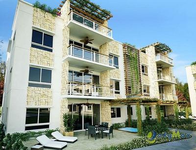 Vendo Apartamentos Tipo Mini-penthouse, En Juan Dolio