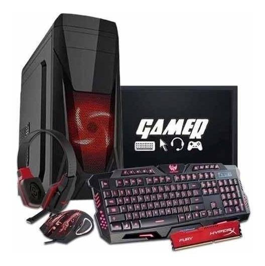 Computador Cpu Gamer Completa Amd A46300+monitor 19 +wi-fi