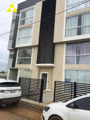 Apartamento Com 2 Dormitórios À Venda, 59 M² Por R$ 185.000,00 - Itajuba - Barra Velha/sc - Ap0447