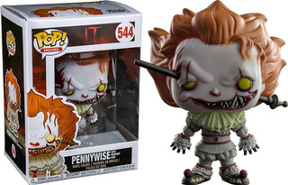 Funko Pop Pennywise With Wrought Iron 544 - It