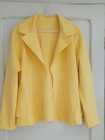 Blaizer Casaco Amarelo Em Neoprene