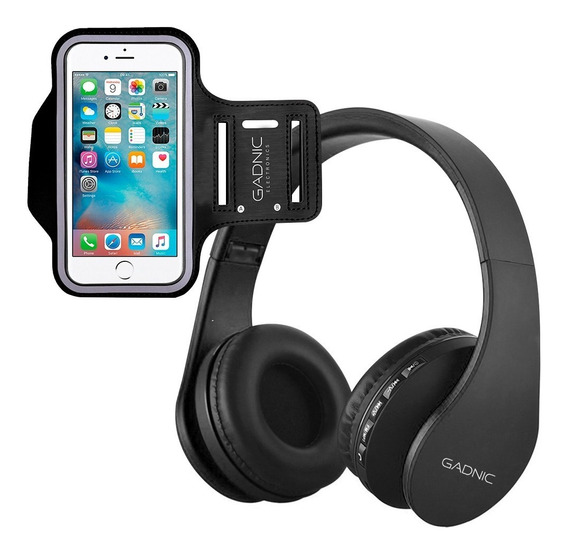 Auricular Gadnic Bluetooth Pro Musica Celular Smartphone