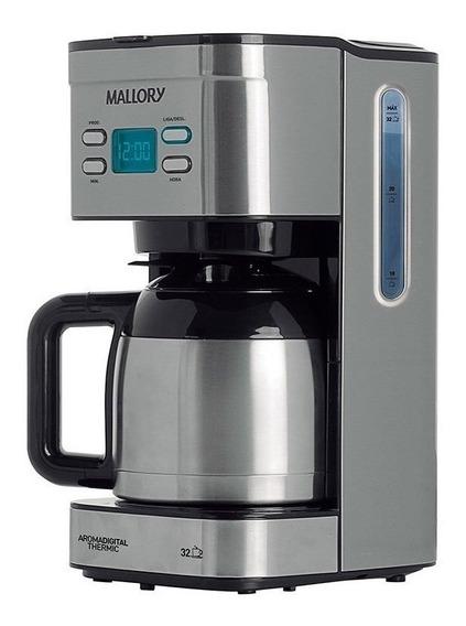 Cafeteira Mallory Aroma Digital Thermic Aço inoxidável 110V