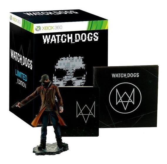 Watch Dogs Limited Edition Xbox 360 Mídia Física