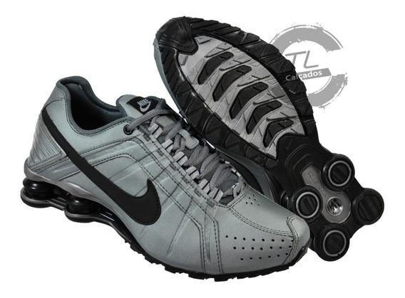 Tênis Nike Sxhox Junior Premium Couro Amortecedor Academia