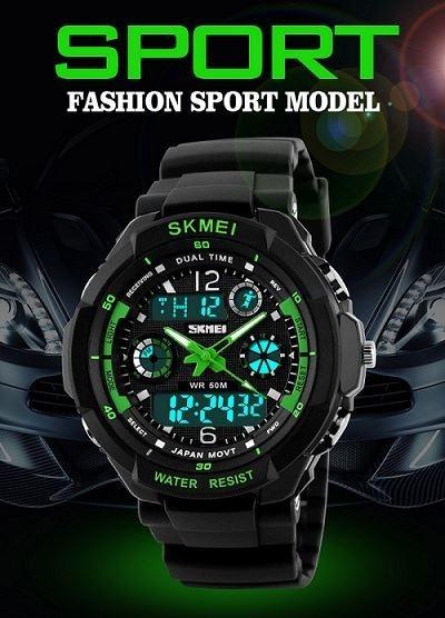 Relógio Masculino Esportivo Digital Original Prova D