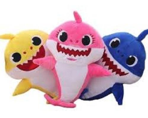 Peluche Baby Shark Niños Juguete Regalo Tiburon Divertido