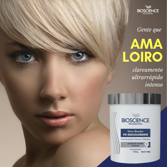 Pó Descolorante Silver Blondor 500g - Bioscience