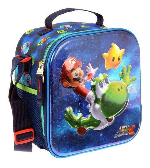 Lonchera Termica Escolar Mario Galaxy Chenson 63629