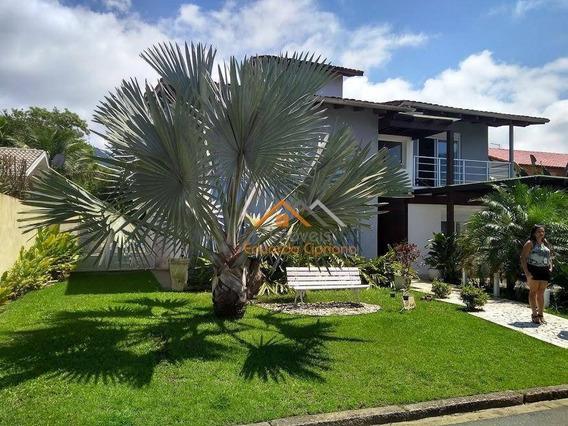 Casa De Alto Padrão Em Condomínio Fechado - Ca0340