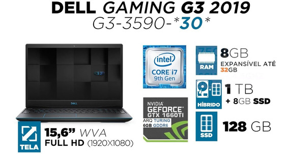 Notebook Dell G3 3590-a30p
