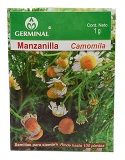 Semillas De Manzanilla 1 Gr Blanco Germinal