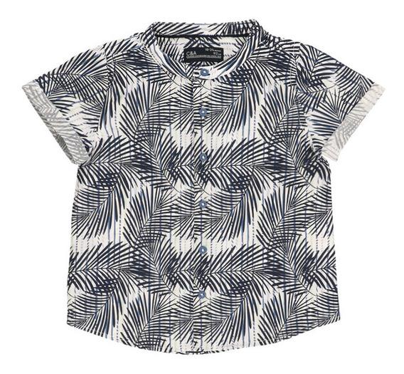 Camisa Manga Corta Estampada De Bebé Niño C&a
